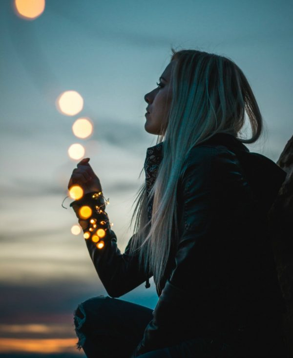 Holding lights